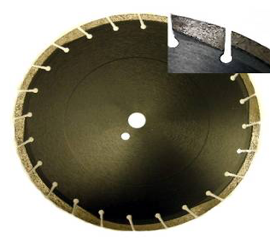 Professional Asphalt Blades with Full Radius Protection 10mm