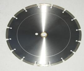 Laser Segmented Hard Material Blades