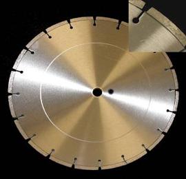 Laser Welded Refractory Blades