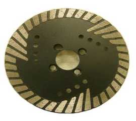 Sintered Continuous Turbo Blades for Hard Stones